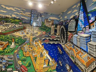 Lego Store Mural