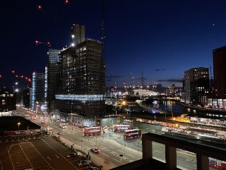 View from hotel O2